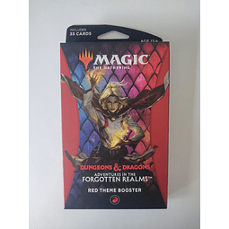 MtG -  Red Theme Booster Forgotten Realms