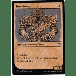 Iron Golem showcase