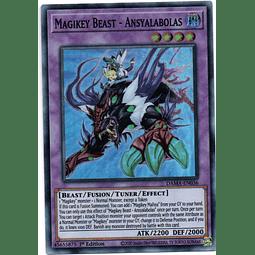 Magikey Beast - Ansyalabolas carta yugi DAMA-EN036