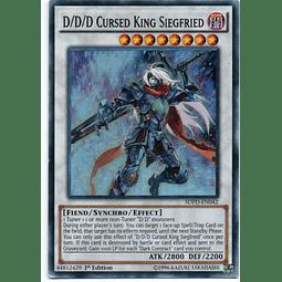 D/D/D Cursed King Siegfried Carta Yugi SDPD-EN042 Super Rare