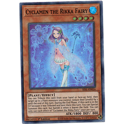 Carta Yugi Cyclamen the Rikka Fairy SESL-EN016