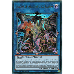 Carta Yugi Dragón de Enlace de Cinco Cabezas DUOV-SP007
