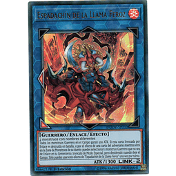Carta Yugi Espadachín de la Llama Feroz DUOV-SP032
