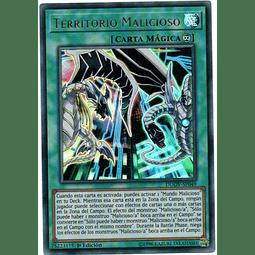 Carta Yugi Territorio Malicioso DUOV-SP049