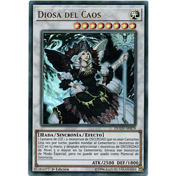 Carta Yugi Diosa del Caos DUOV-SP079