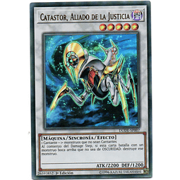 Catastor, Aliado de la Justicia DUDE-SP007 Carta Yugioh!