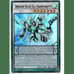 Dragón Veloz Ala Transparente DUDE-SP011 Carta Yugioh!