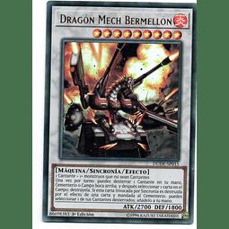 Dragón Mech Bermellón DUDE-SP015 Carta Yugioh!