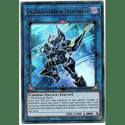 Decodificador Hablador DUDE-SP023 Carta Yugioh!