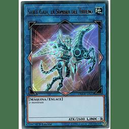 Sable Gaia, la Sombra del Trueno DUDE-SP022 Carta Yugioh!