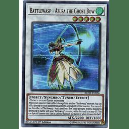 Battlewasp - Azusa the Ghost Bow Carta yugi BLHR-EN036