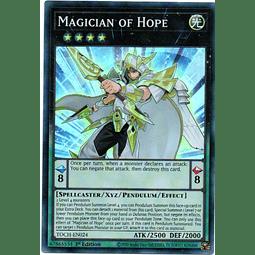 Magician of Hope Carta Yugi TOCH-EN024