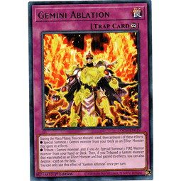 Gemini Ablation Carta Yugi TOCH-EN019