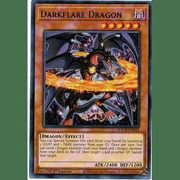 Darkflare Dragon Carta Yugi TOCH-EN032