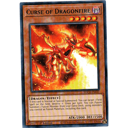 Curse of Dragonfire Carta Yugi TOCH-EN037