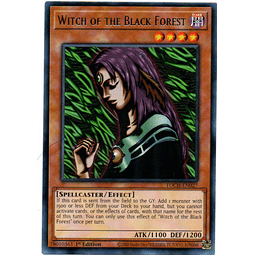 Witch of the Black Forest Carta Yugi TOCH-EN027