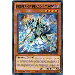 Keeper of Dragon Magic Carta Yugi TOCH-EN041