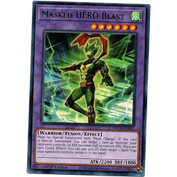 Masked HERO Blast Carta Yugi TOCH-EN047