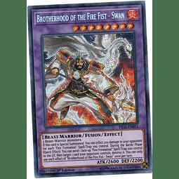 Brotherhood of the Fire Fist - Swan Carta yugi FIGA-EN015