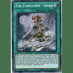 Fire Formation - Ingen Carta yugi FIGA-EN020