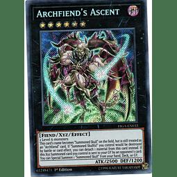 Archfiend's Ascent Carta yugi FIGA-EN033