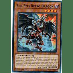 Red-Eyes Retro Dragon Carta Yugioh LDS1-EN009