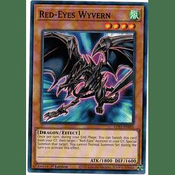 Red-Eyes Wyvern Carta Yugioh LDS1-EN005