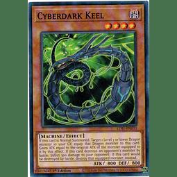 Cyberdark Keel Carta Yugioh LDS1-EN033