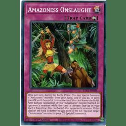 Amazoness Onslaught Carta Yugioh LDS1-EN025