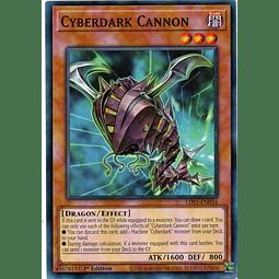 Cyberdark Cannon Carta Yugioh LDS1-EN034