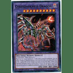 Cyberdarkness Dragon Carta Yugioh LDS1-EN037