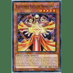 Illusionist Faceless Magician Carta Yugioh LDS1-EN046