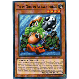 Toon Goblin Attack Force Carta Yugioh LDS1-EN061