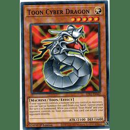 Toon Cyber Dragon Carta Yugioh LDS1-EN062