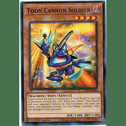 Toon Cannon Soldier Carta Yugioh LDS1-EN060