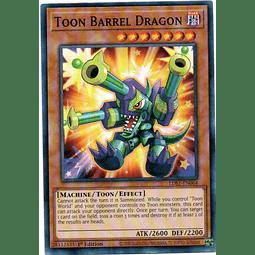 Toon Barrel Dragon Carta Yugioh LDS1-EN064