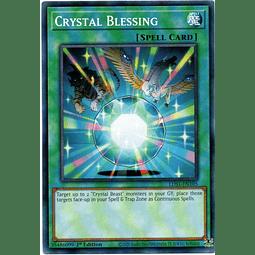 Crystal Blessing Carta Yugioh LDS1-EN105