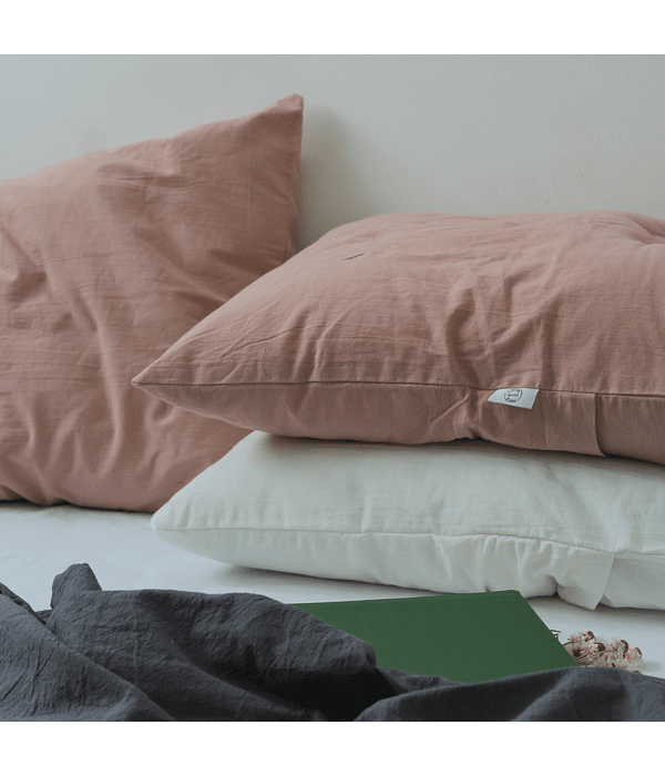 Mauve Pillowcase Set