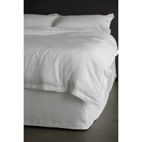 Sommier Azores Off White box type cover