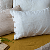 Genoa Linen White Cushion