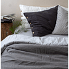 Reversible Stone Gray and Striped Padding