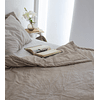 Reversible bedspread Tussor smooth various colors