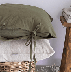 Oregon Olive Cushion