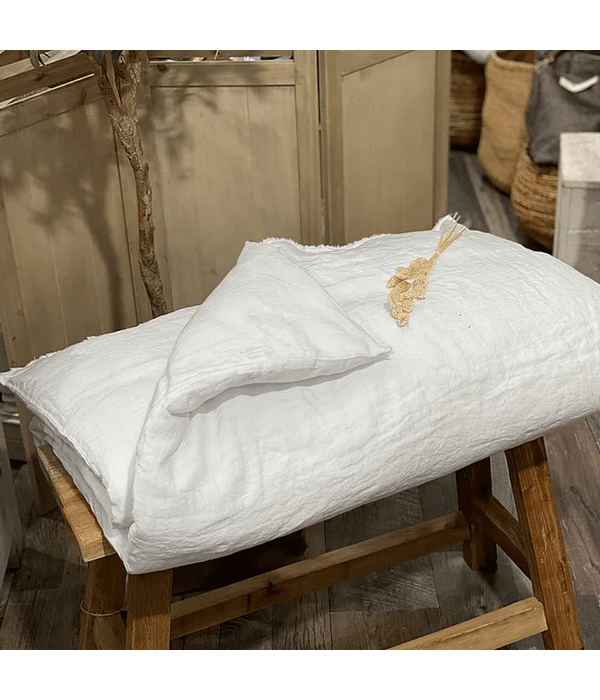 Piecera de Cama Tussor Sorrento Off White