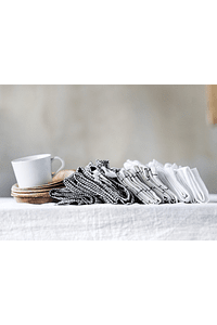 White Turin tablecloth