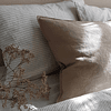 Toulouse Linen Walnut Cushion