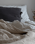 Sand and Striped Sand Bedspread