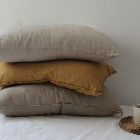 Liverpool Linen Curry Cushion