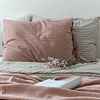 Set of Pillowcases with Gender Ties Various Colors