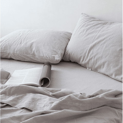 Pearl Gray Fitted / Fitted Sheet
